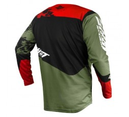 Camiseta uso Off Road, Motocross, Enduro, Aventura MX GEAR CONTACT SHADOW de Shot kaki 2