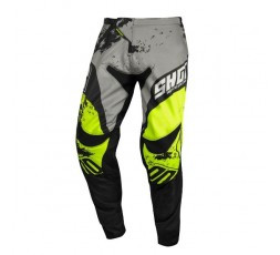 Pantalones moto uso Off Road, Motocross, Enduro, MX GEAR CONTACT SHADOW de Shot amarillo 1