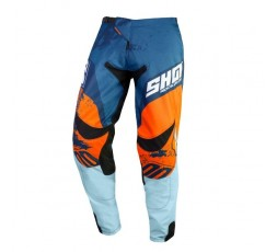 Pantalones moto uso Off Road, Motocross, Enduro, MX GEAR CONTACT SHADOW de Shot azul 1