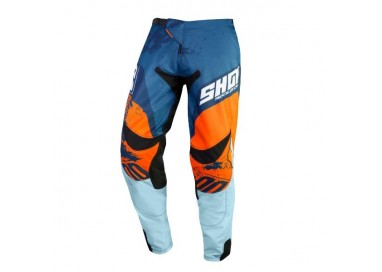 Pantalones moto uso Off Road, Motocross, Enduro, MX GEAR CONTACT SHADOW de Shot azul 1