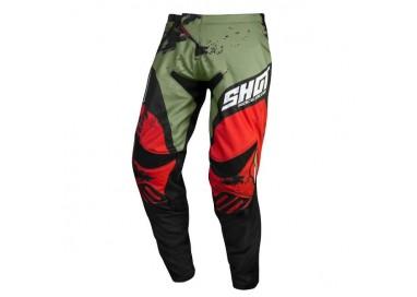 Pantalones moto uso Off Road, Motocross, Enduro, MX GEAR CONTACT SHADOW de Shot kaki 1