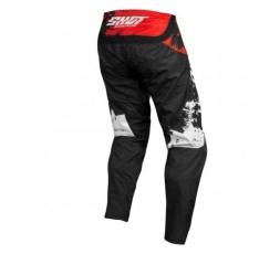 Pantalones moto uso Off Road, Motocross, Enduro, MX GEAR CONTACT SHADOW de Shot rojo 2