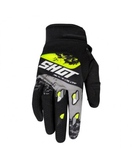 Guantes moto uso Off Road, Motocross, Enduro, MX GEAR CONTACT SHADOW de Shot