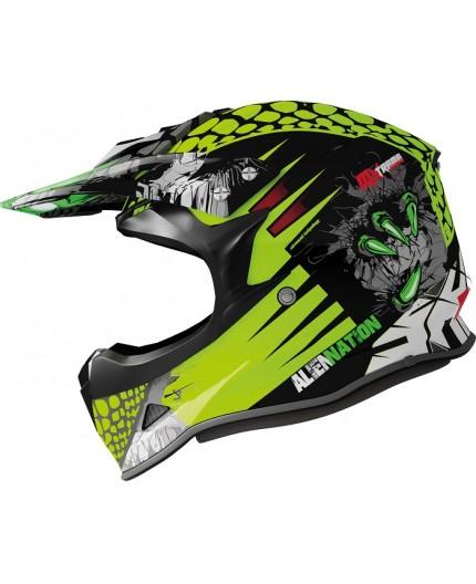 ALIEN NATION full-face helmet for Off Road use model MX-307 by Shiro