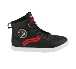 STARS EVO urban motorcycle boots by BERING red/black