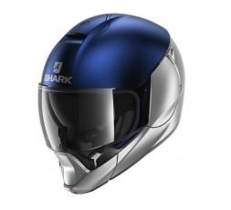 Motorcycle modular helmets EVOJET DUAL by SHARK blue