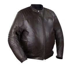 KING SIZE large size motorcycle leather jacket, BRUCE model by BERING.
