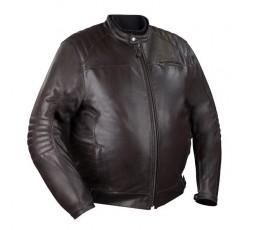 KING SIZE large size motorcycle leather jacket, BRUCE model by BERING.