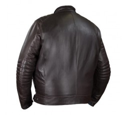 Chaqueta moto en cuero talla grande KING SIZE BRUCE de BERING espalda