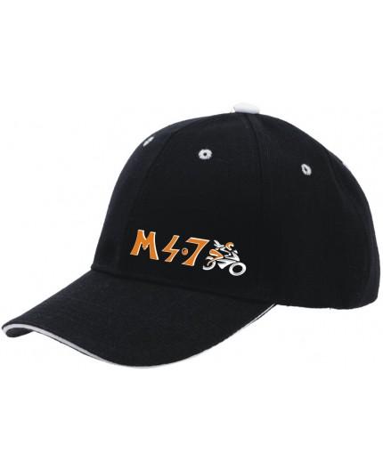 Gorra M 4.7 color negro