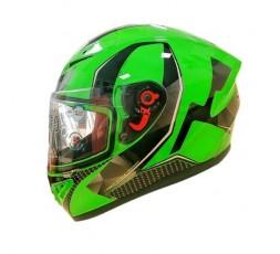 Casco integral SH-870 GO! de SHIRO verde 1