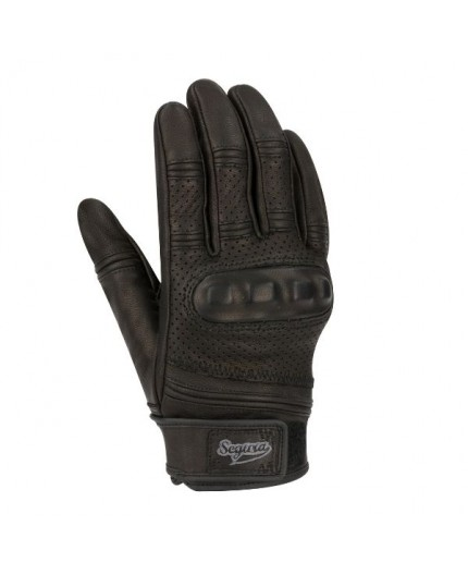 Spacy goat leather motorcycle gloves by Segura