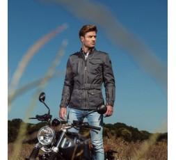 Chaqueta moto otoño/invierno uso Cafe Racer, Vintage, Urbano modelo WOODSTOCK de Segura ambiente