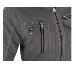 Autumn /Winter motorcycle jacket use Cafe Racer, Vintage, Retro, Urban model LADY WOODSTOCK by Segura 4