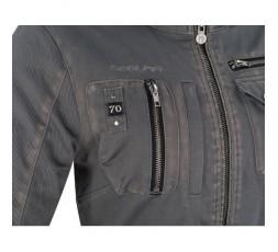 Veste de moto Automne /Hiver modèle LADY WOODSTOCK de Segura est utilisée pour Cafe Racer, Vintage, Retro, Urban 3