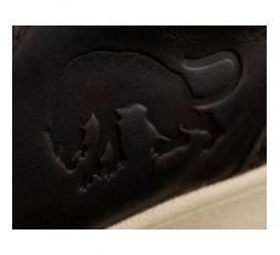 Botas de moto en cuero modelo AUSTIN D3O WP de Furygan marron detalle 3