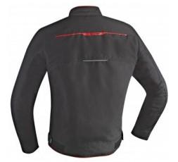 Chaqueta motero ZETEC de IXON Negro y rojo