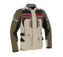 Motorcycle jacket for use in Touring, Trail model BOSTON by Bering beige 1