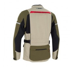 Motorcycle jacket for use in Touring, Trail model BOSTON by Bering beige 2