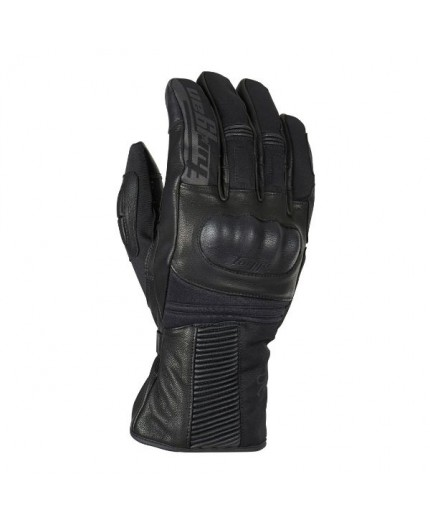 Motorcycle gloves made of leather and textile model FURYSHORT by Furygan