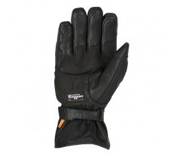Motorcycle gloves made of leather and textile model FURYSHORT by Furygan 1