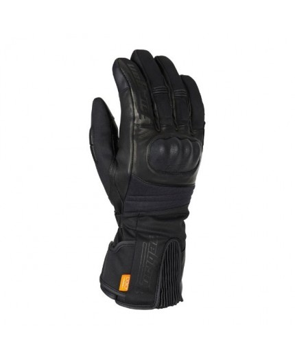 Motorcycle gloves made of leather and textile model FURYLONG by Furygan