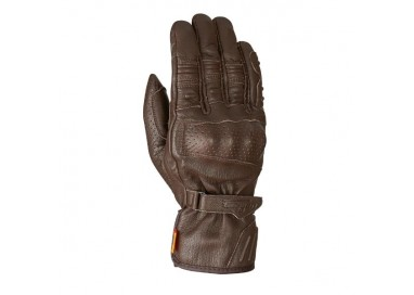Motorcycle gloves in leather TAIGA D3O model by Furygan
