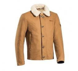 Ixon Worker winter motorcycle jacket camel 1