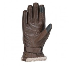 Women's motorcycle gloves in leather PRO CUSTOM LADY by Ixon brown 2