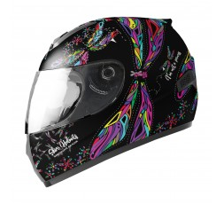 Children's full face helmet SH-829 WINGS KIDS by SHIRO black