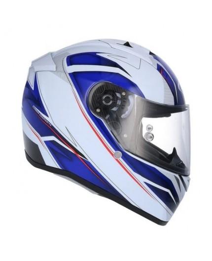 CARBONO full face helmet model SH-336 CROWN by SHIRO