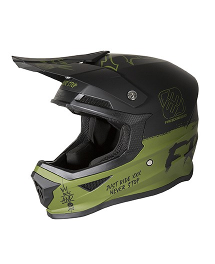 Casco integral uso Off Road, Motocross, MX, Aventura XP4 SPEED FREEGUN de SHOT