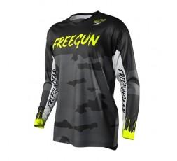 T-shirt pour utilisation Off Road, Motocross, Enduro FREEGUN GEAR DEVO CAMO de Shot 1