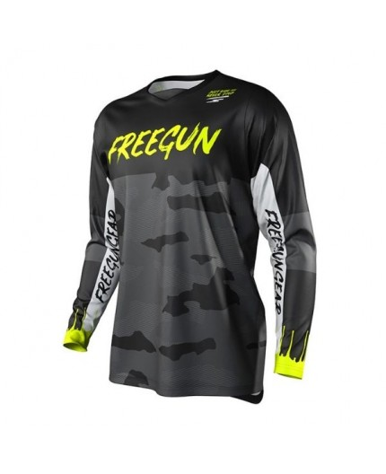 T-shirt use Off Road, Motocross, Enduro, Adventure FREEGUN GEAR DEVO CAMO by Shot