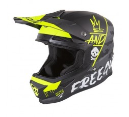 Full face helmet for use Off road, Motocross, MX, Adventure XP4 CAMO FREEGUN by SHOT 1