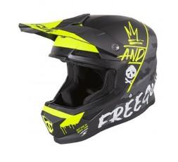 Full face helmet for use Off road, Motocross, MX, Adventure XP4 CAMO FREEGUN by SHOT 1