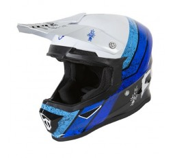 Full face helmet for use Off road, Motocross, MX, Adventure XP4 STRIPE FREEGUN by SHOT 1