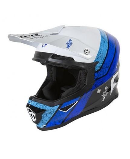 Full face helmet for use Off road, Motocross, MX, Adventure XP4 STRIPE FREEGUN by SHOT