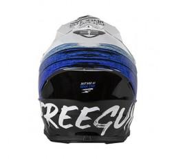 Full face helmet for use Off road, Motocross, MX, Adventure XP4 STRIPE FREEGUN by SHOT 3