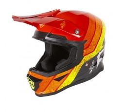 Full face helmet for use Off road, Motocross, MX, Adventure XP4 STRIPE FREEGUN by SHOT 21