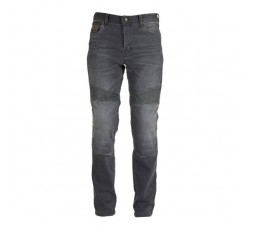Men's STEED motorcycle jeans by FURYGAN with D3O protections Grey 2