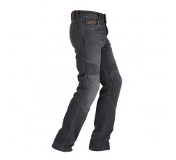 Men's STEED motorcycle jeans by FURYGAN with D3O protections Grey 1