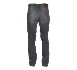 Men's STEED motorcycle jeans by FURYGAN with D3O protections Grey 3