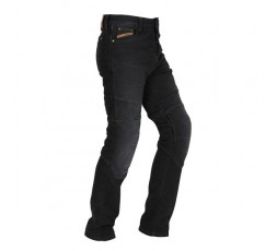 Men's STEED motorcycle jeans by FURYGAN with D3O protections Black 1