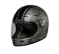 Vintage, Retro VEGA full face helmet from ORIGINE silver 1