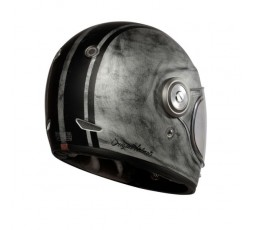 Vintage, Retro VEGA full face helmet from ORIGINE silver 2