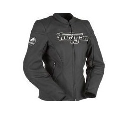Leather motorcycle jacket KALI D3O by FURYGAN 3