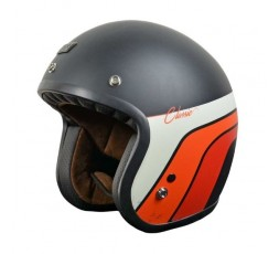 Open face helmet Vintage style, Retro PRIMO from ORIGINE Classic Vintage black 1