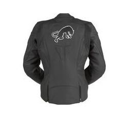 Leather motorcycle jacket KALI D3O by FURYGAN 2
