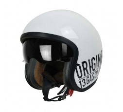 Open face helmet Urban, Vintage, Retro SPRINT style by ORIGINE Gasoline white 1